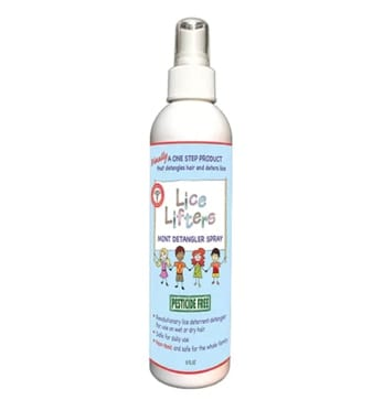 The Lice Lifters Mint Detangler Spray