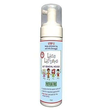 The Lice Lifters Nit Removal Mousse