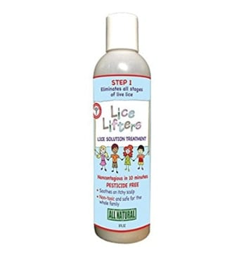 The Lice Lifters Lice Solution Treatment