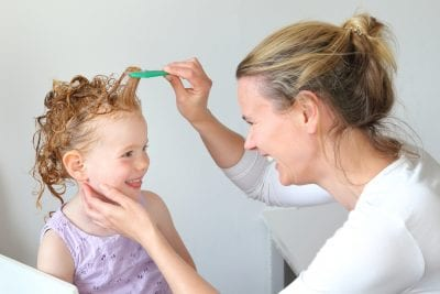 Schedule professional head lice treatment for your whole family.