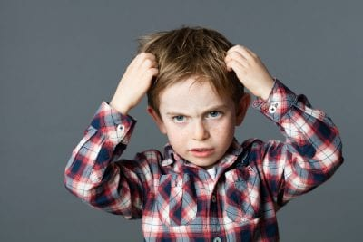 Intense itching from head lice can often lead to hives and other skin conditions.